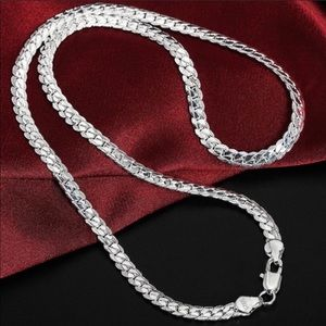 """💎NEW """"20""""925 Sterling Silver Snake Chain Necklace"""